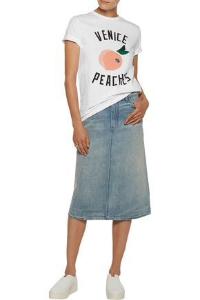 ÊTRE CÉCILE Venice Peaches printed cotton-jersey T-shirt