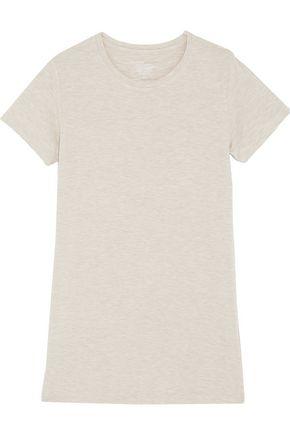 MAJESTIC Washed stretch-jersey T-shirt