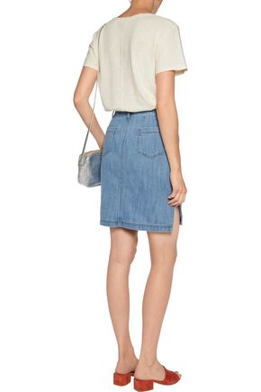 M.I.H JEANS Cotton and linen-blend top