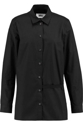 MM6 by MAISON MARGIELA Cotton-poplin shirt