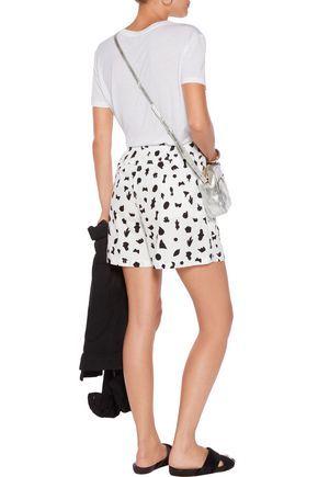MM6 by MAISON MARGIELA Printed cotton shorts