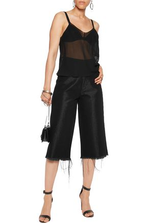 MM6 by MAISON MARGIELA Chiffon camisole
