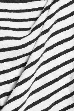 R13 Striped cotton top