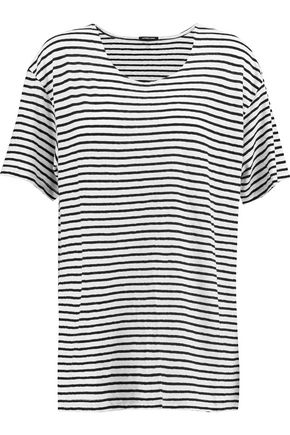 R13 Striped cotton top