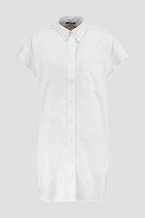 R13 Frayed cotton shirt