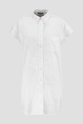 R13 Frayed cotton shirt