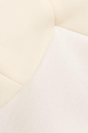 MAISON MARGIELA Velvet-trimmed scuba top