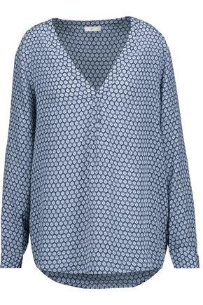 JOIE Daryn printed silk top