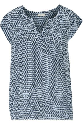 JOIE Tashi printed silk top