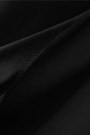GOEN.J Asymmetric crepe shorts