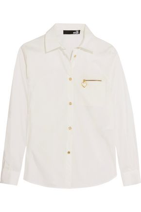 LOVE MOSCHINO Cotton-blend shirt