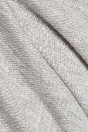 HALSTON HERITAGE Asymmetric modal-jersey top