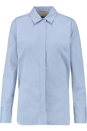 BY MALENE BIRGER Vintana cotton-poplin shirt