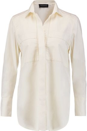 BY MALENE BIRGER Isla cotton-poplin shirt