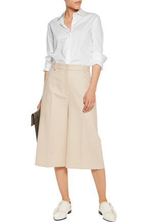 MM6 by MAISON MARGIELA Layered cotton-twill shirt