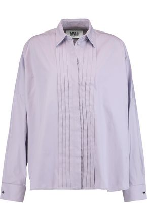MM6 by MAISON MARGIELA Camicia pintucked cotton top