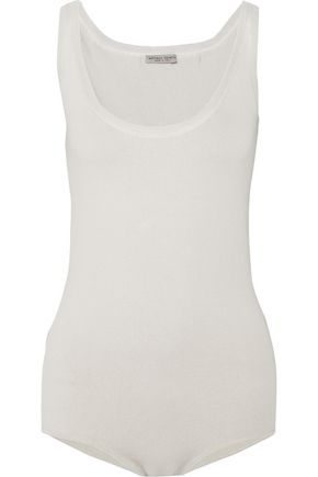 BOTTEGA VENETA Stretch cotton-blend bodysuit