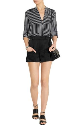 BAND OF OUTSIDERS Satin shorts