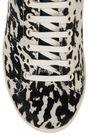 ISABEL MARANT Étoile Bart leopard-print calf hair sneakers
