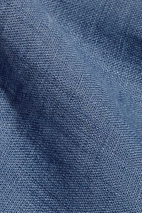 LA PERLA Seawind cropped linen top