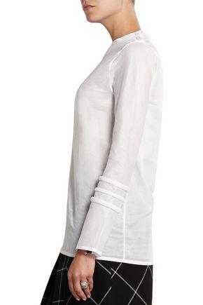 1205 Cotton-gauze top