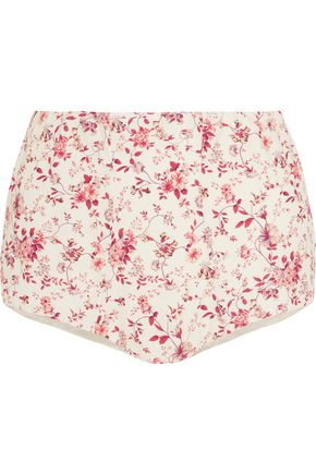 ETRO Floral-print cotton shorts