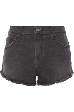 CURRENT/ELLIOTT The Gam stretch-denim shorts