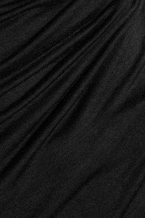 BAILEY 44 Wrap-effect stretch-jersey top
