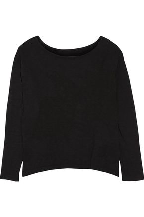ENZA COSTA Stretch-cotton top