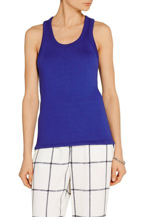 TIM COPPENS Ribbed cotton-blend tank