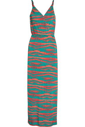 VIX PAULAHERMANNY Marmara Anita printed stretch-jersey maxi dress