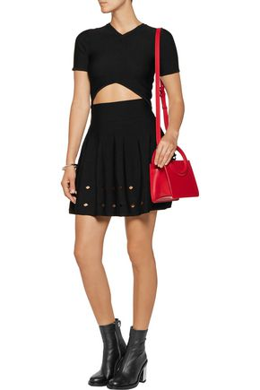 OPENING CEREMONY Corey cutout knitted top
