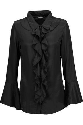 W118 by WALTER BAKER Kacey ruffled silk blouse