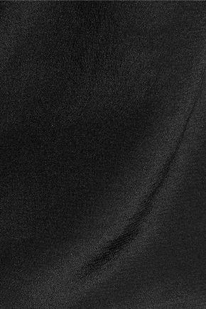 W118 by WALTER BAKER Piper cutout silk-georgette blouse