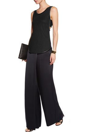 3.1 PHILLIP LIM Cutout ribbed stretch-jersey tank
