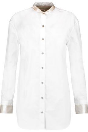RAG & BONE Ash cotton and silk blouse