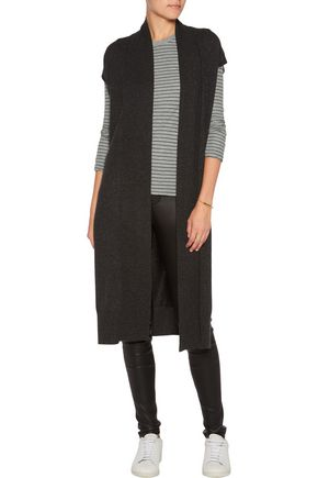 JAMES PERSE Striped cotton-jersey top