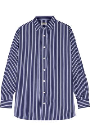 TOTÊME Capri striped cotton-poplin shirt
