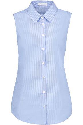 EQUIPMENT Colleen striped cotton-poplin blouse