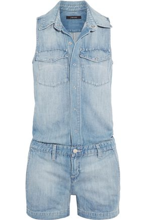 J BRAND Kayla denim playsuit