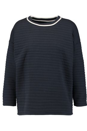 PETIT BATEAU Padded cotton-blend sweatshirt