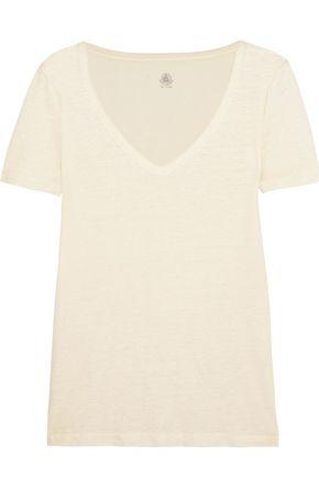 PETIT BATEAU Linen-jersey T-shirt