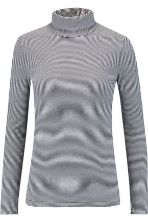 PETIT BATEAU Miller striped cotton-jersey turtleneck top