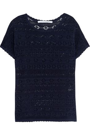 DIANE VON FURSTENBERG Pennie crocheted top