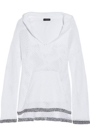 RAG & BONE Thea open-knit hooded sweater