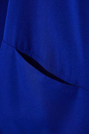 ZERO + MARIA CORNEJO Silk-blend charmeuse top