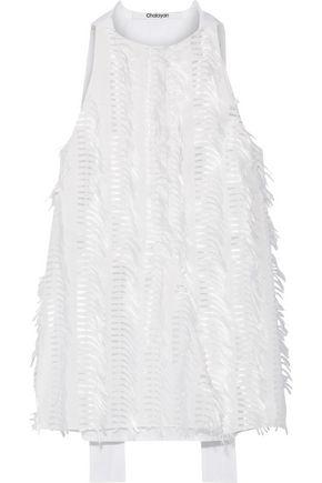 CHALAYAN Fil coupé cotton-poplin top