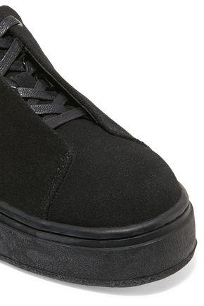 EYTYS Doja embroidered suede platform sneakers