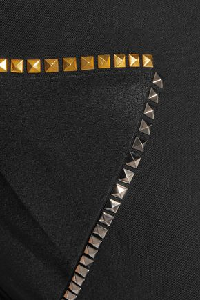 VERSACE COLLECTION Studded jersey T-shirt