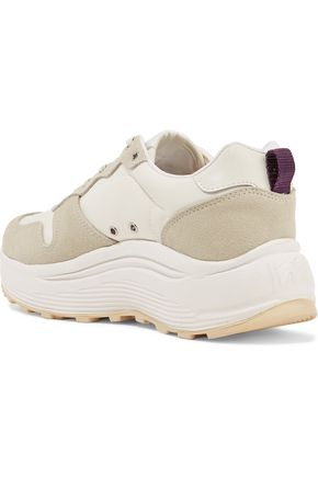EYTYS Jet shell and suede sneakers
